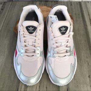 Women's Adidas Original Falcon Suede Shoes